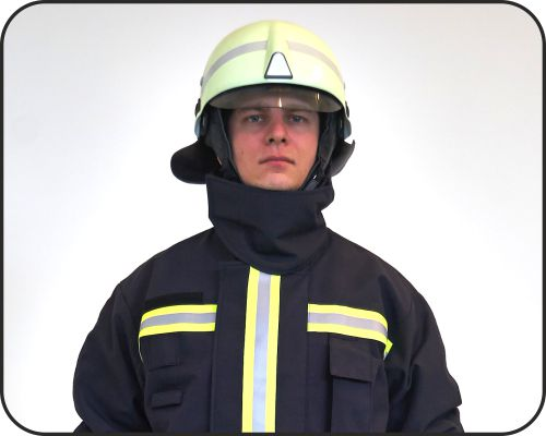 R13 fire-fighter protective suit